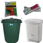 This is an image of Wide range of garbage bins, garbage bags & bin liners from ABL Distribution Pty Ltd